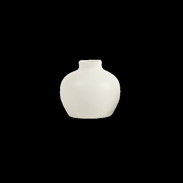 The Floral Society Ceramic Blossom Vase - Matte White