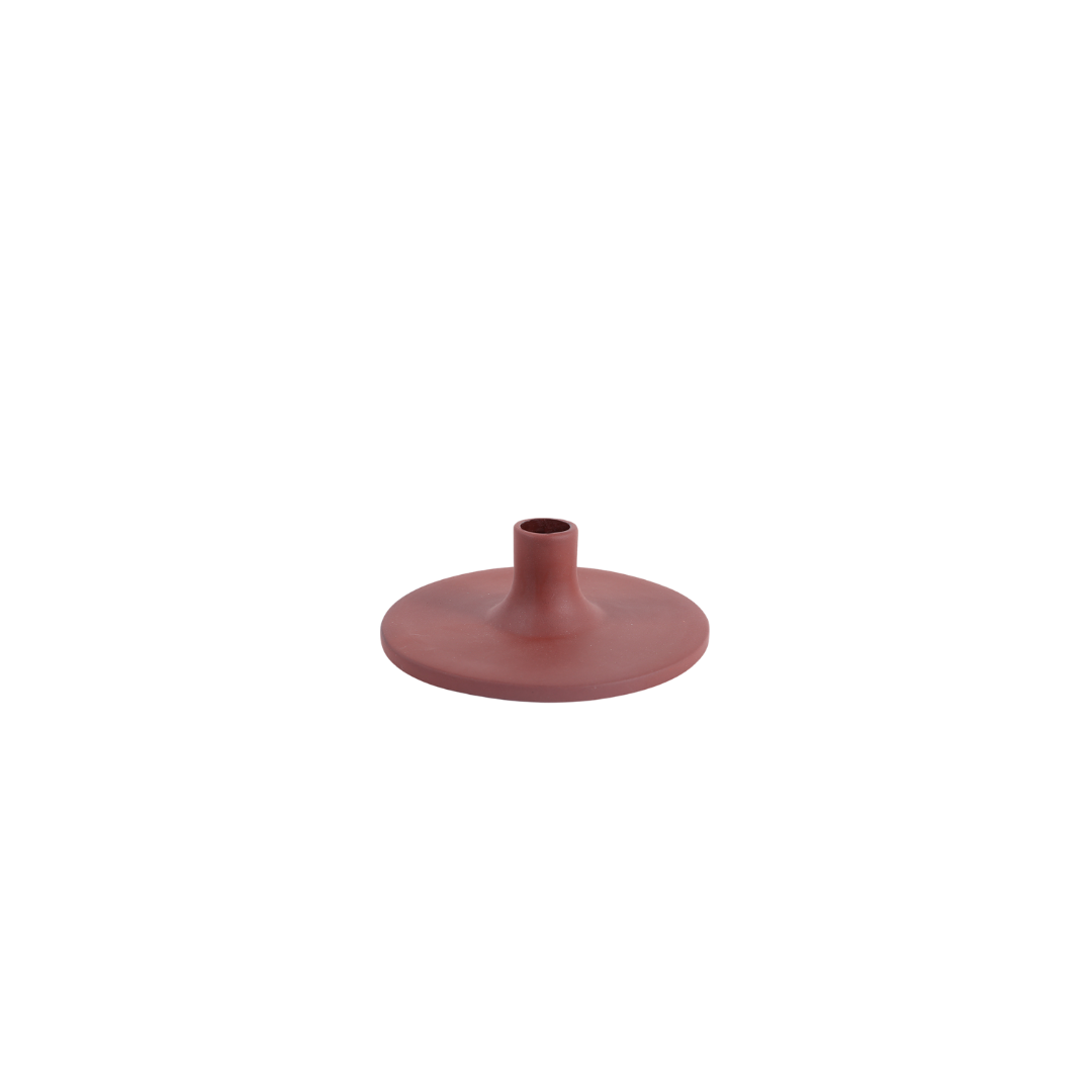 The Floral Society Ceramic Taper Holder - Earth Wide