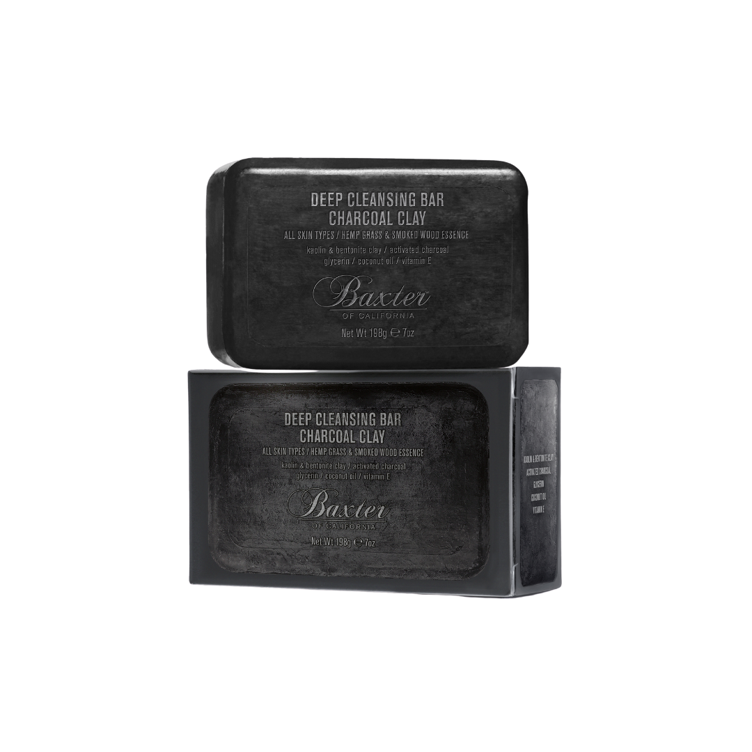 Baxter of California Deep Cleansing Bar - Charcoal Clay