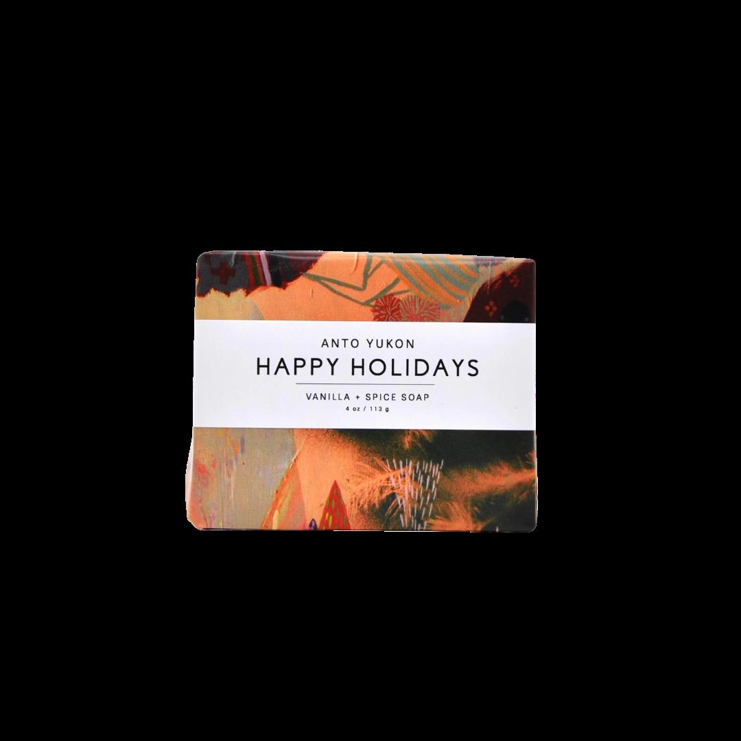 Anto Yukon Natural Soap - Happy Holidays