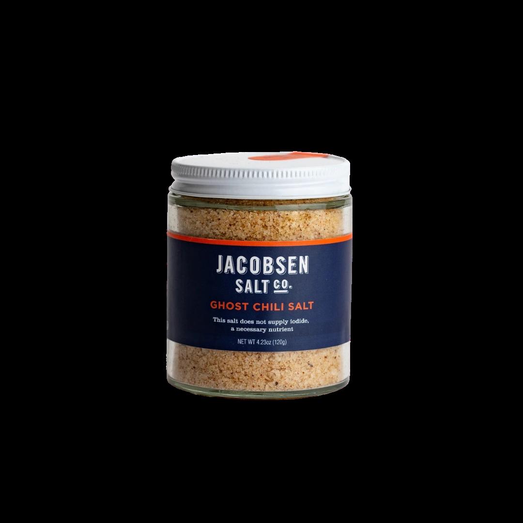 Jacobsen Salt Co. Ghost Chilli Infused Sea Salt 4.23oz