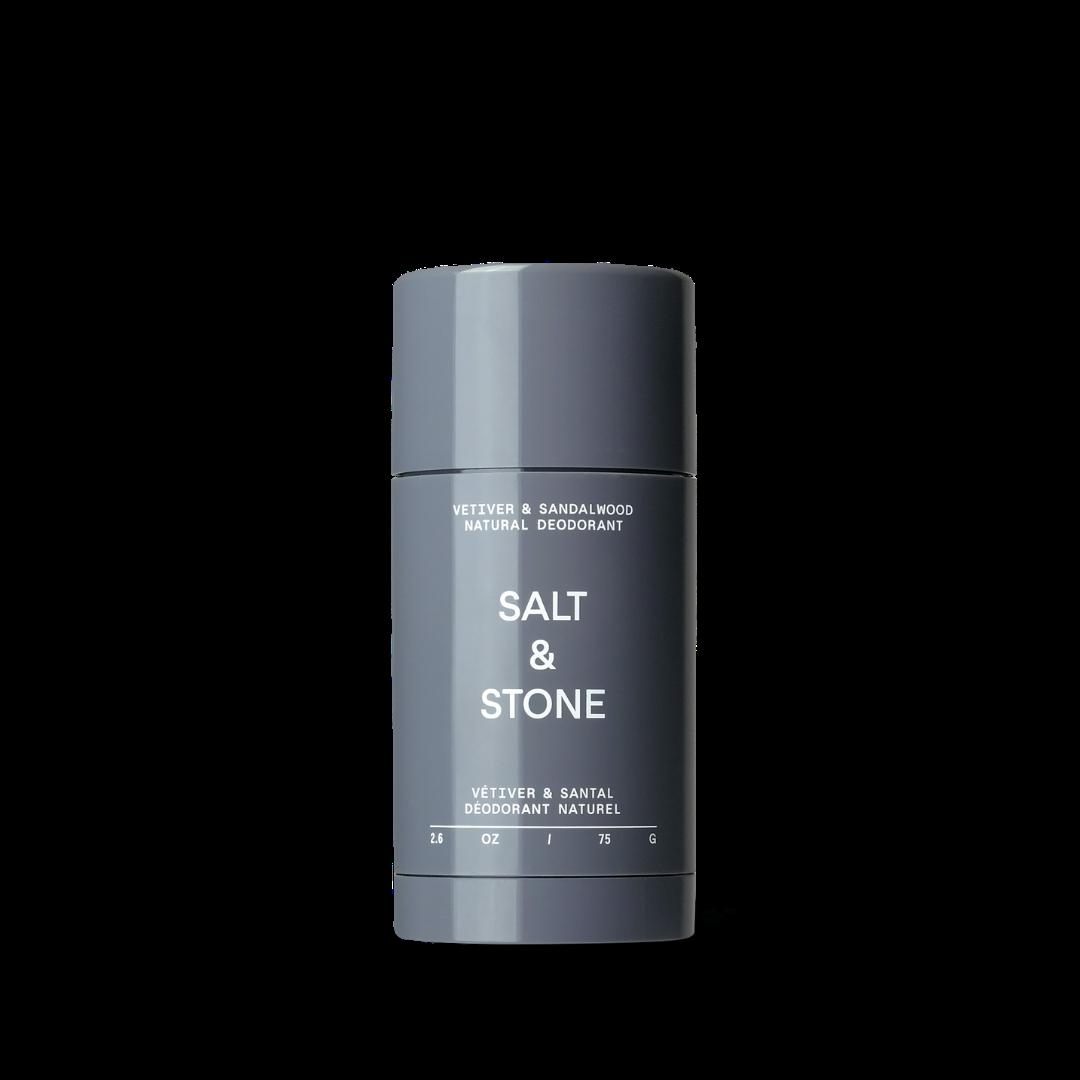 Salt & Stone Natural Deodorant Lemongrass/Sandalwood/Vetiver