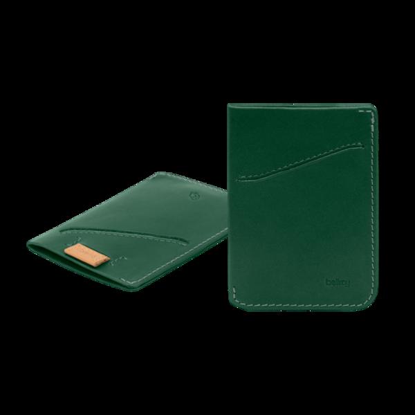 Bellroy Card Sleeve - Racing Green