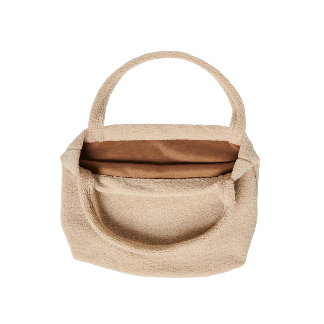 Studio Noos Chunky Teddy Mom Bag - Cream