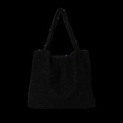 Studio Noos Bouclé Mom Bag - Black