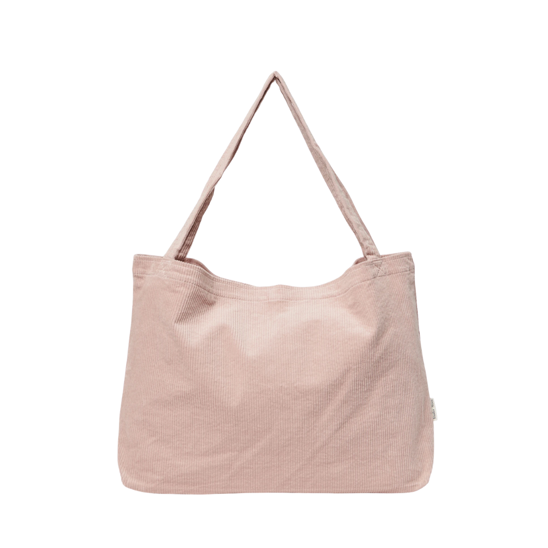 Studio Noos Studio Noos Ribbed Mom Bag - Dusty Pink