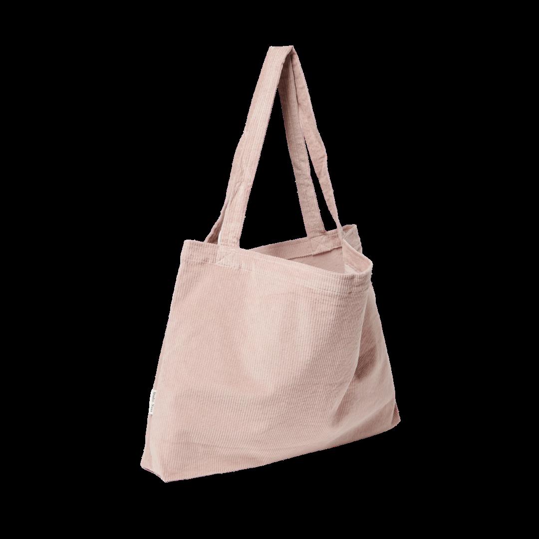 Studio Noos Ribbed Mom Bag - Dusty Pink