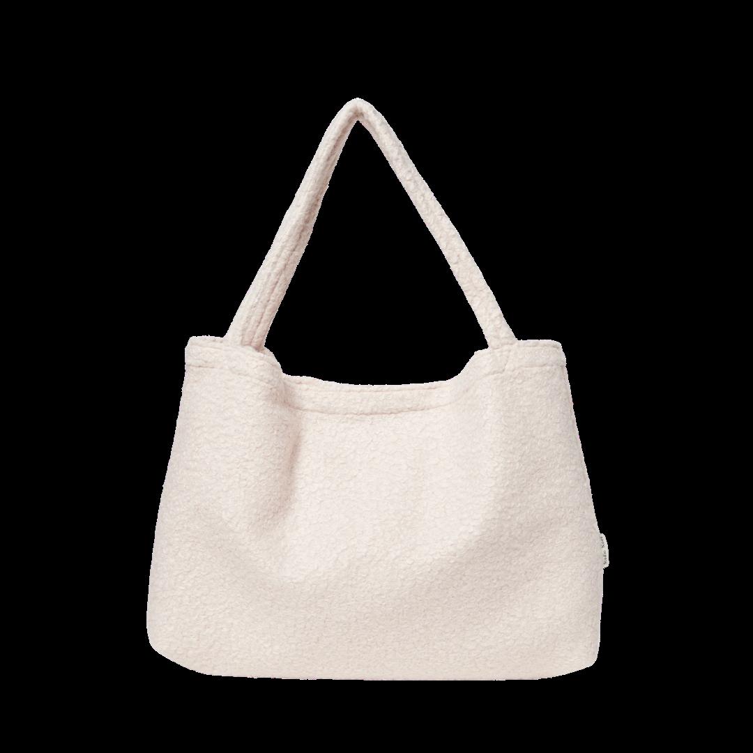 Studio Noos Bouclé Mom Bag - Cream