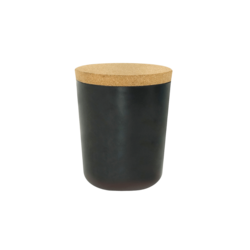Ekobo Claro 65oz XXL Storage Jar - Black