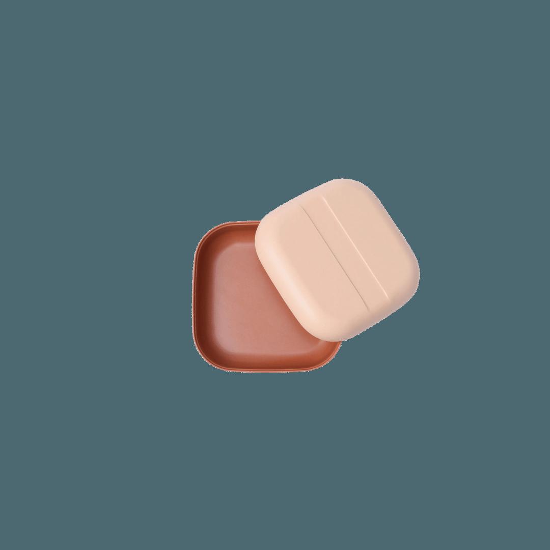 Ekobo Duo Colour Snack Box - Blush/Terracotta