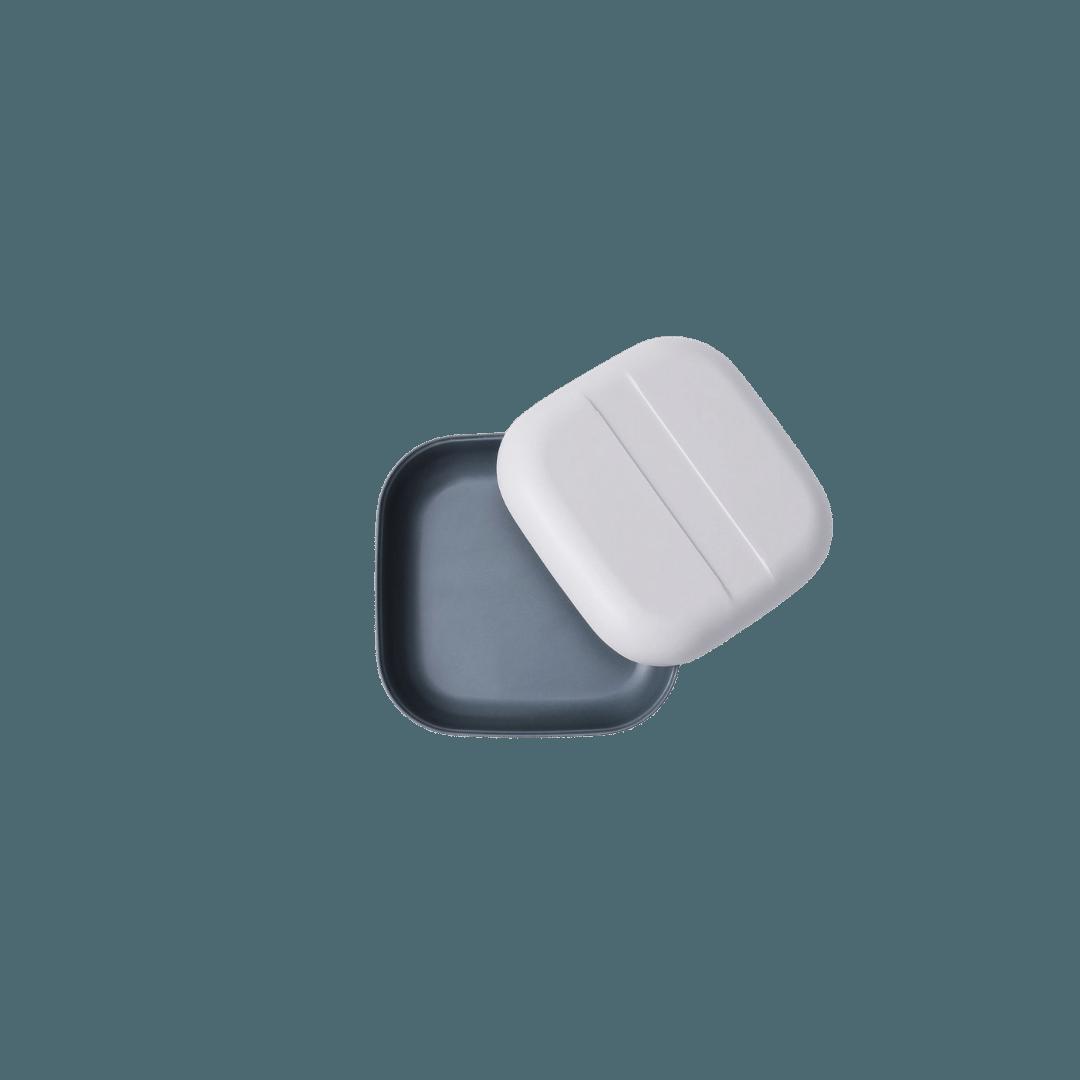 Ekobo Duo Colour Snack Box - Cloud/Storm