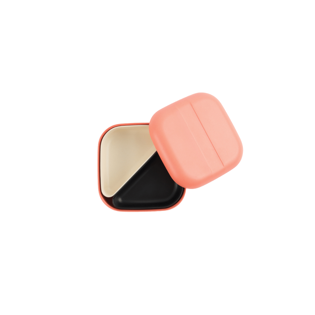 Ekobo Square Bento Lunch Box - Coral