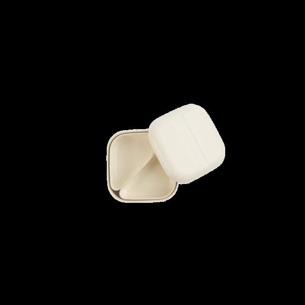 Ekobo Square Bento Lunch Box - White