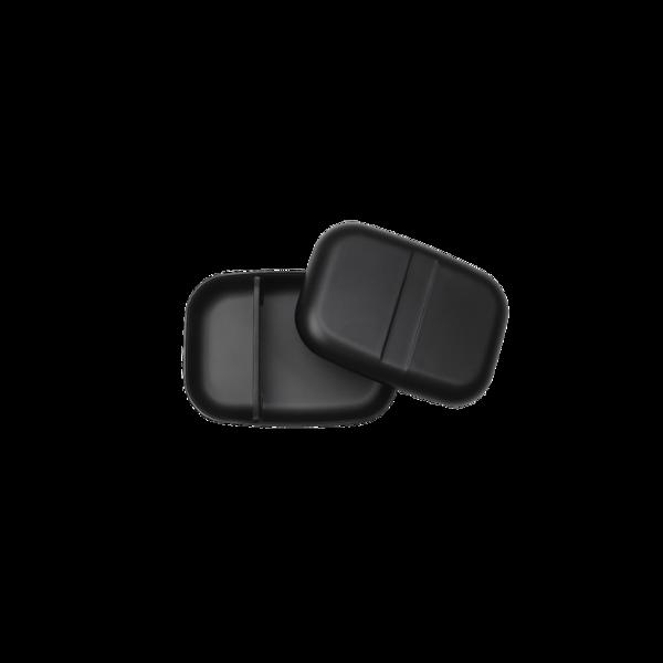Ekobo Rectangle Bento Lunch Box - Black