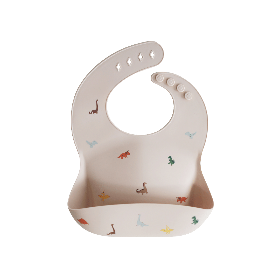 Mushie Silicone Baby Bib