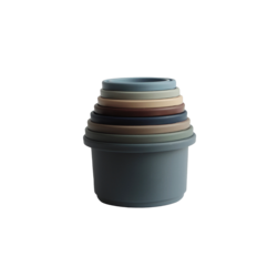 Mushie Stacking Cups Toy