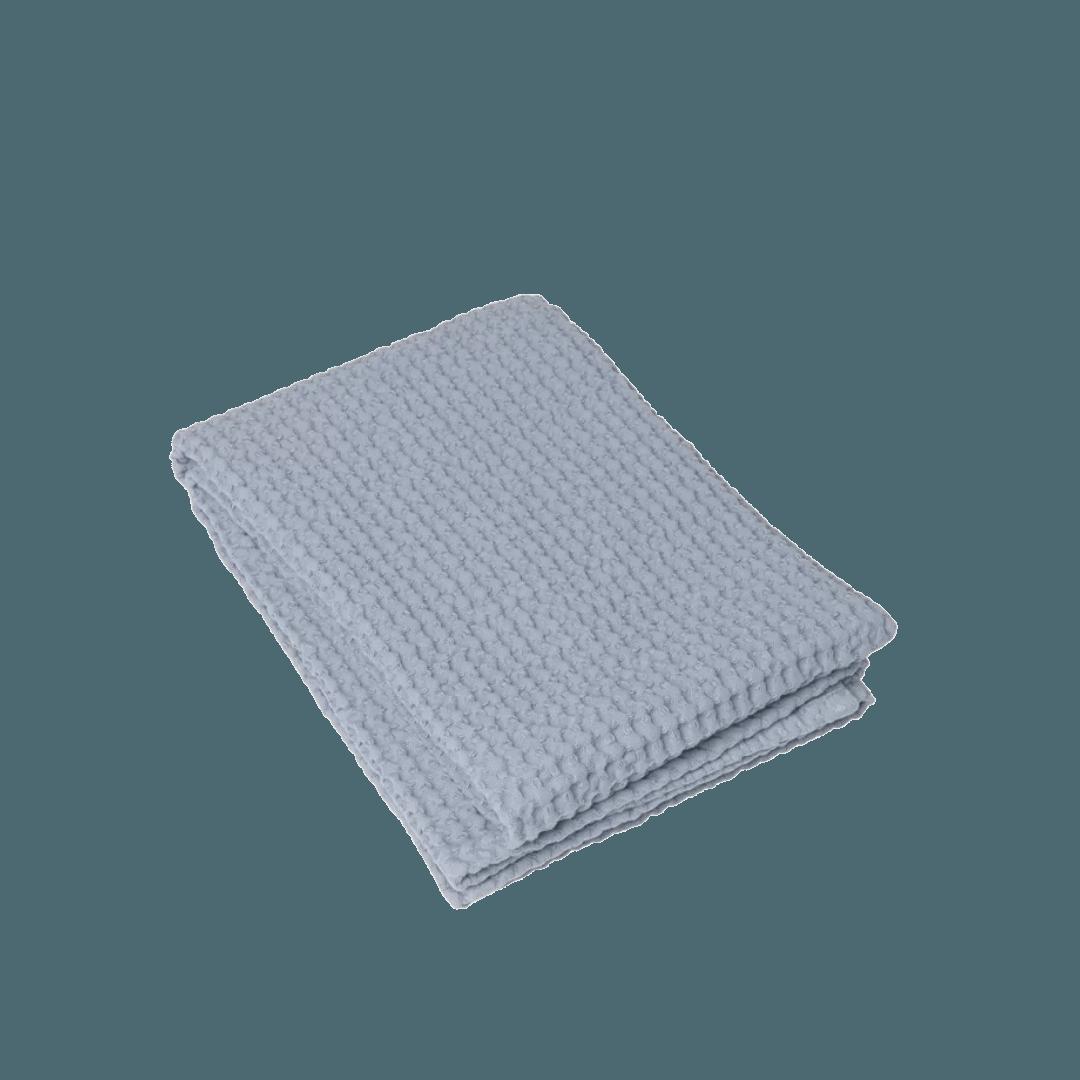 Blomus Caro Waffle Bath Towel Ashley Blue 50 x 100 cm