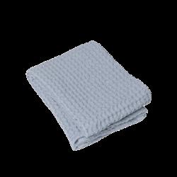 Blomus Caro Waffle Bath Towel Ashley Blue 70 x 140 cm