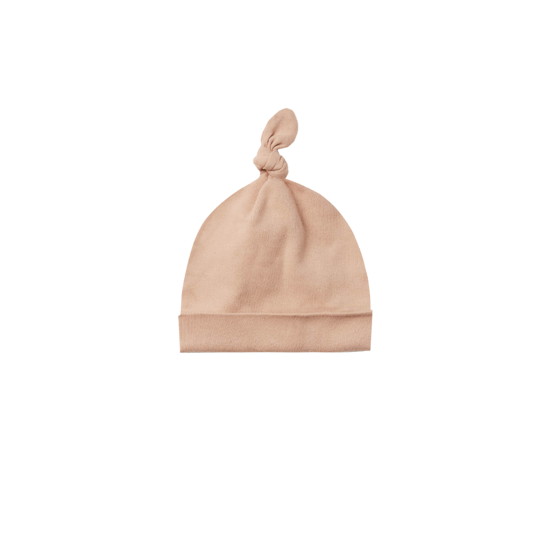 Quincy Mae Knotted Baby Hat - Petal
