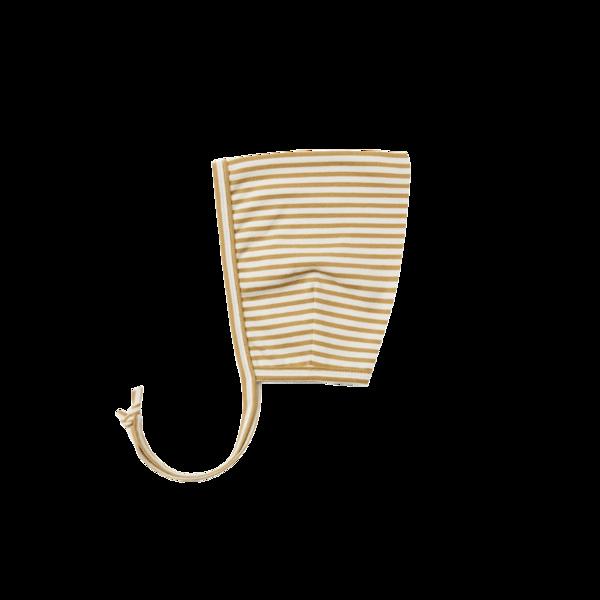 Quincy Mae Pixie Bonnet - Gold Stripe