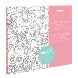 OMY Giant Colouring Poster - Kids Life