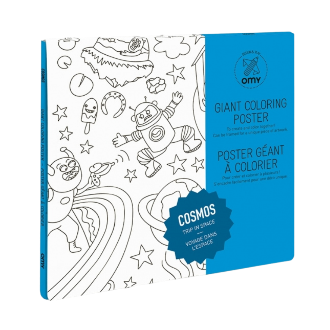 OMY Giant Colouring Poster - Cosmos