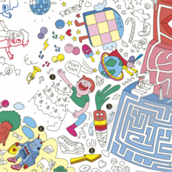 OMY Giant Colouring Poster - Giant Games