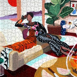 Fits Puzzles Tiger Queen Puzzle