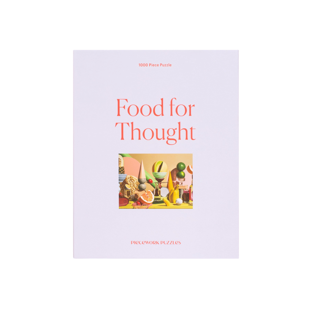 Piecework Puzzles Food for Thought - 1000 pc