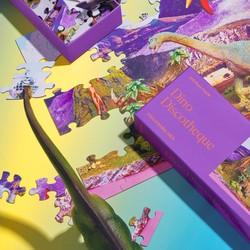 Piecework Puzzles Dino Discotheque - 100 pc