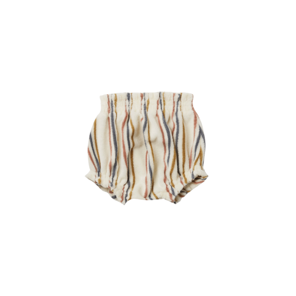 Quincy Mae Terry Short - Retro Stripe