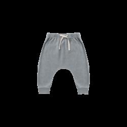 Quincy Mae Terry Cloth Sweatpant - Ocean