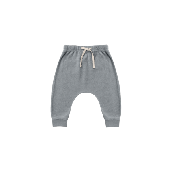 Quincy Mae Terry Cloth Sweatpant - Ocean