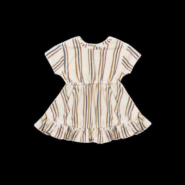 Quincy Mae Quincy Mae Terry Dress - Retro Stripe