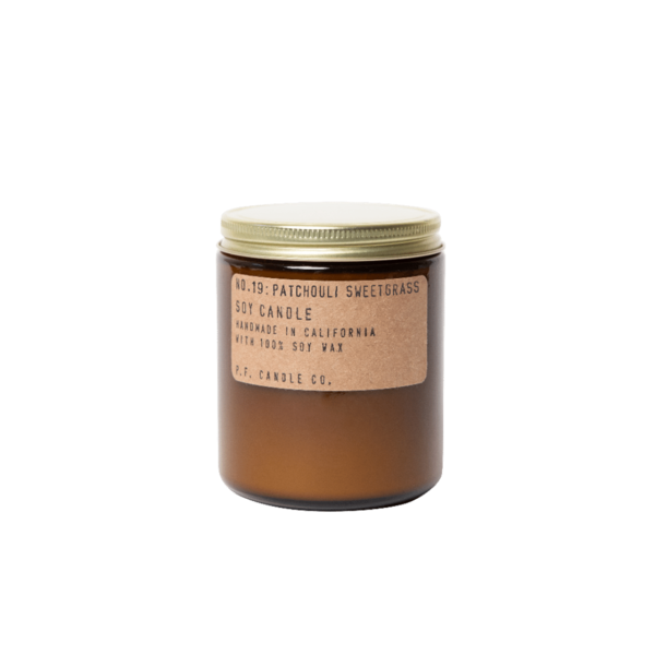 P. F. Candle Co. Standard Soy Candle Patchouli Sweetgrass 7.2oz