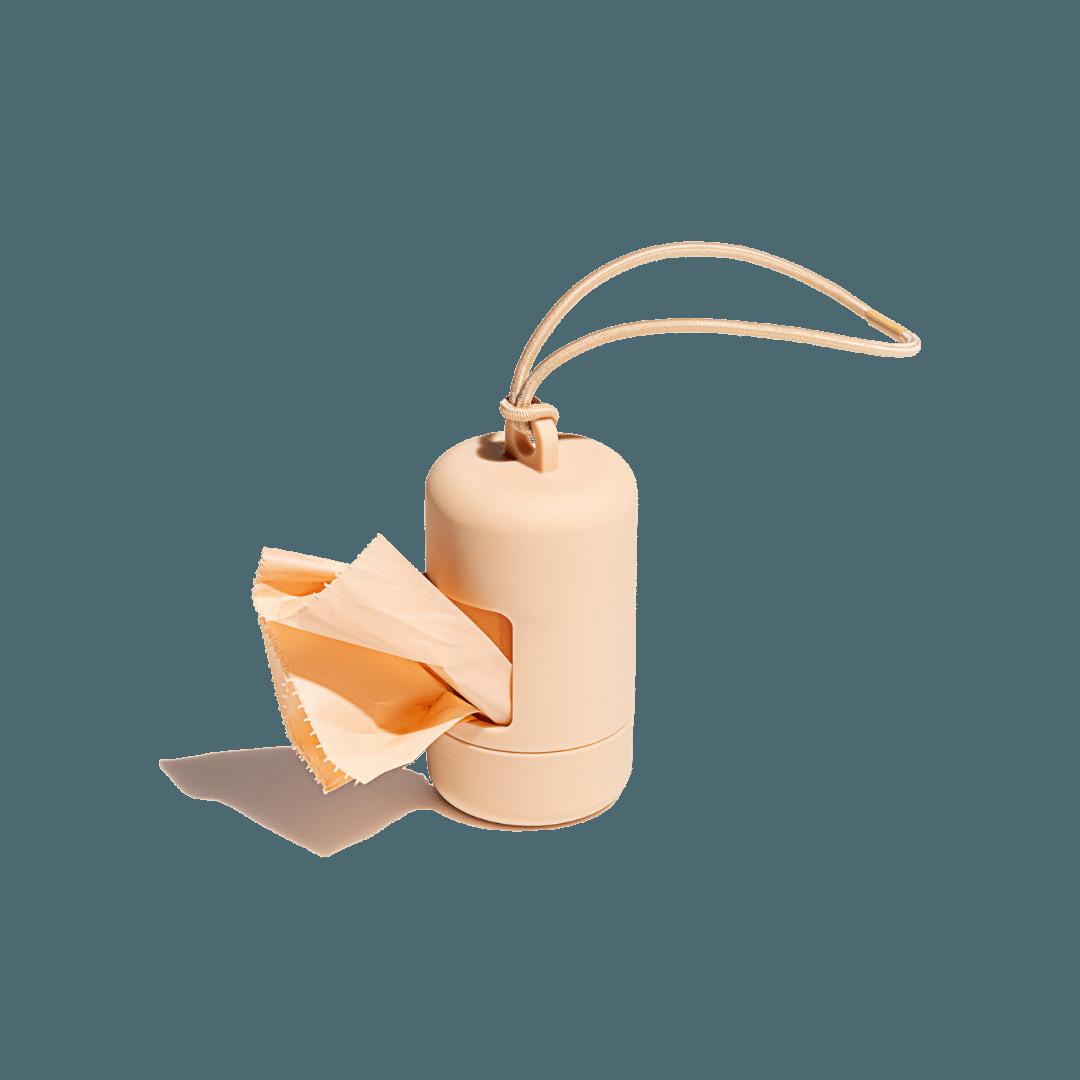 Wild One Poop Bag Carrier Tan