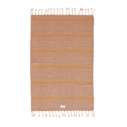 OYOY Living Design Kyoto Organic Cotton Guest Towel - Dark Powder