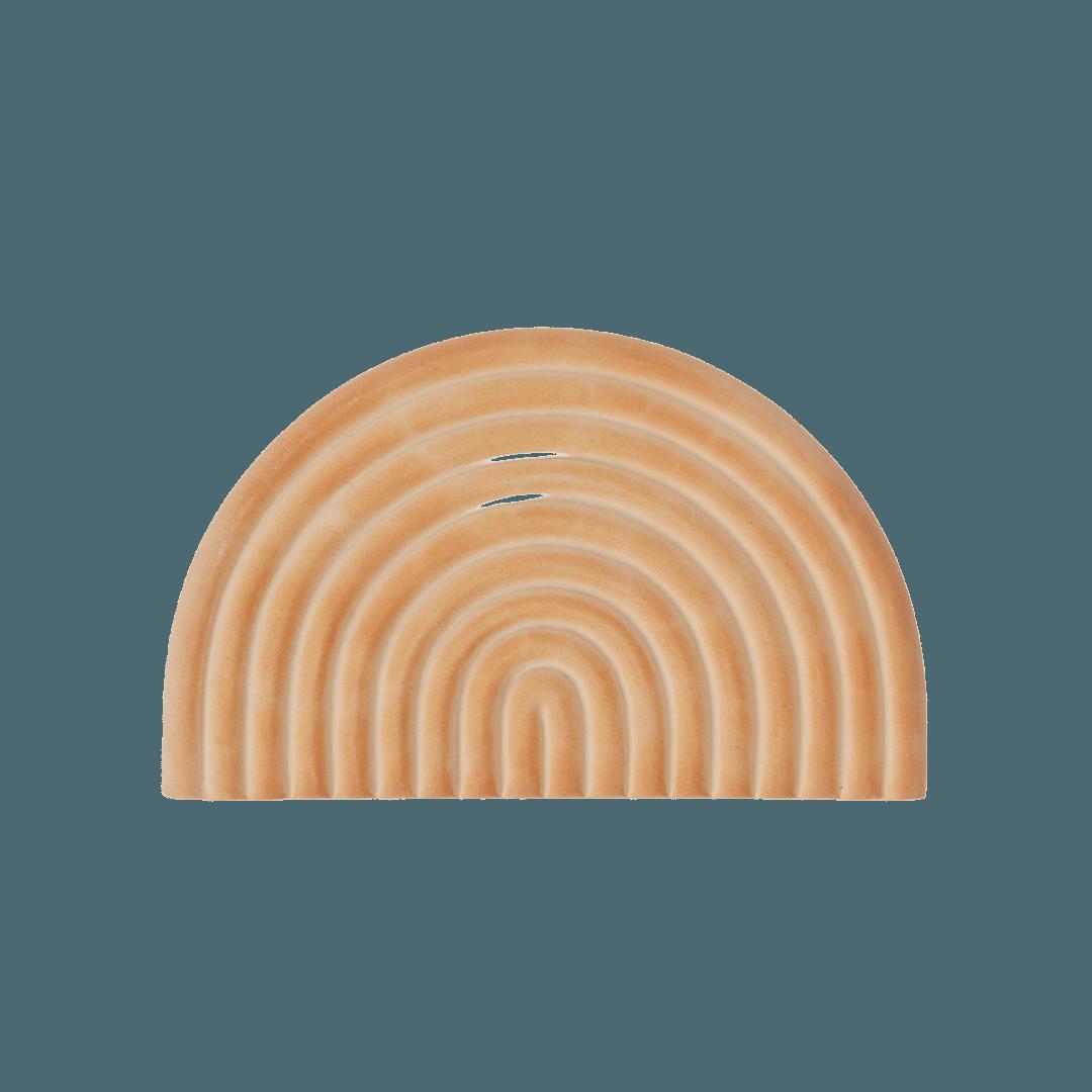 OYOY Living Design Ceramic Rainbow Tray - Beige