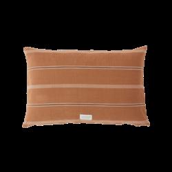 OYOY Living Design Kyoto Organic Cushion - Dark Caramel