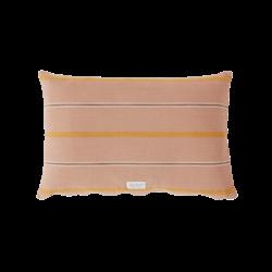 OYOY Living Design Kyoto Organic Cushion - Dark Powder