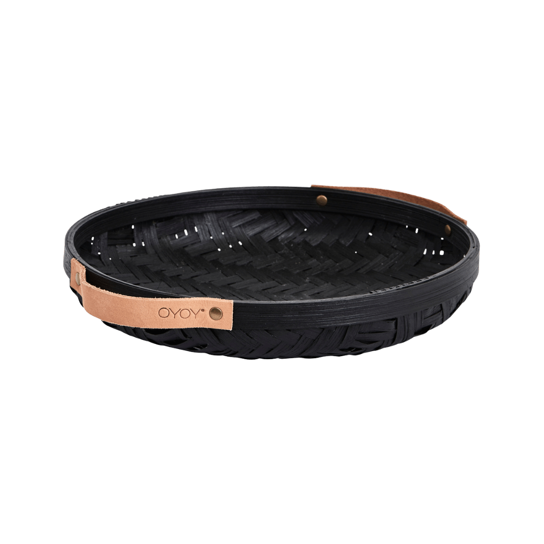 OYOY Living Design Sporta Bread Basket - Black