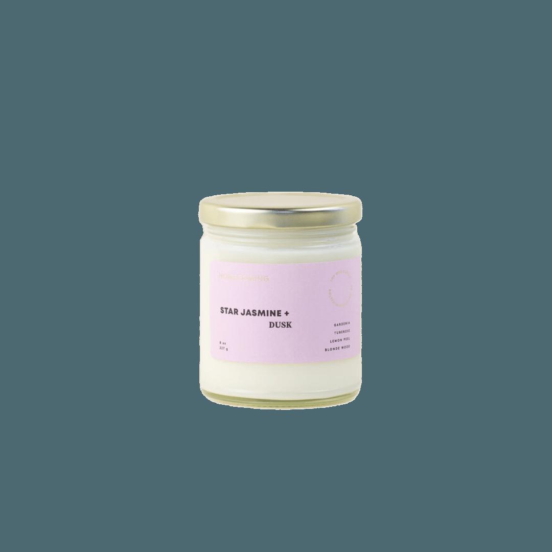 Homecoming Star Jasmine + Dusk Soy Candle