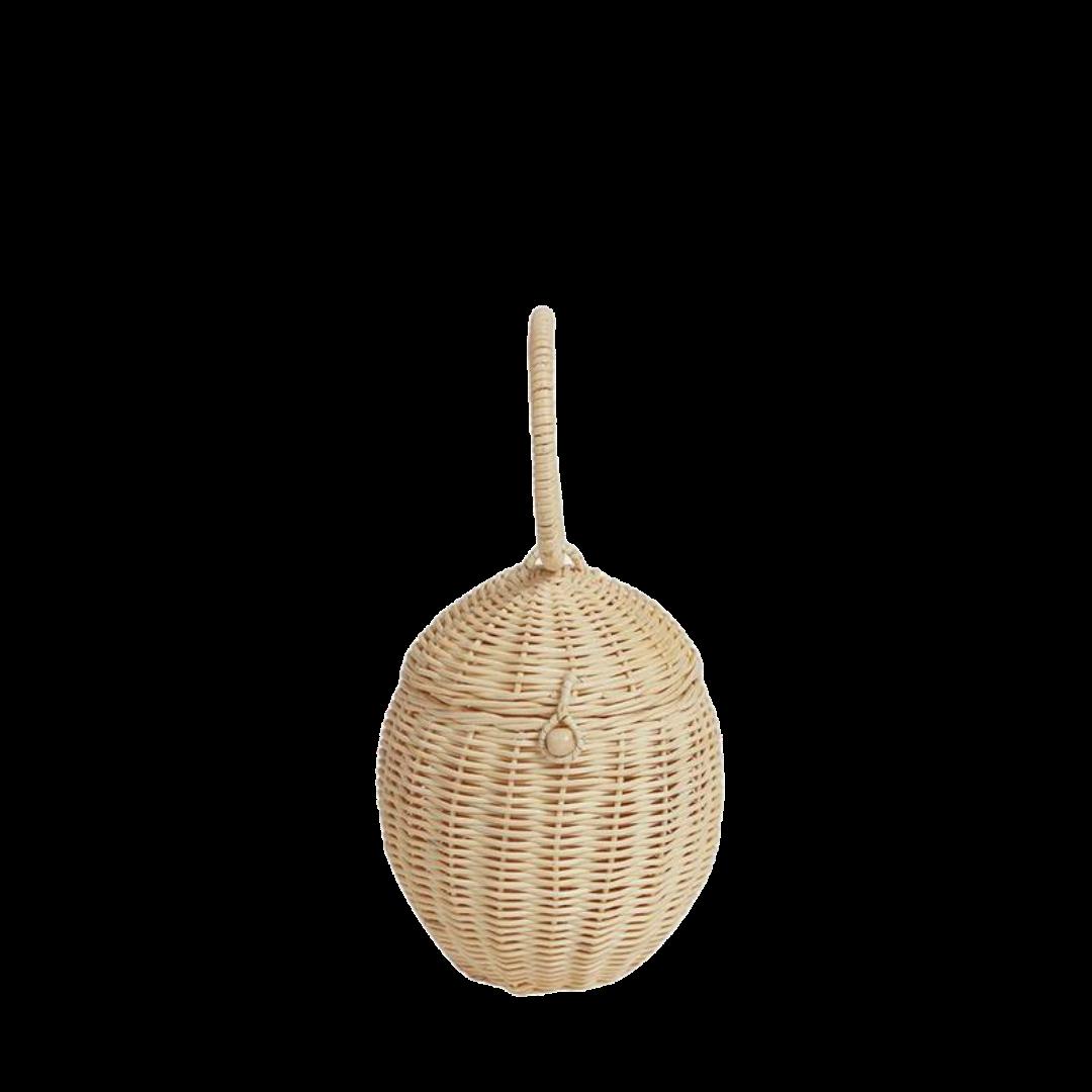 Olli Ella Rattan Egg Basket
