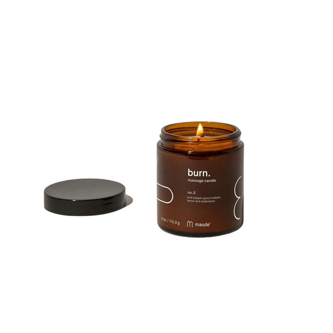 Maude Burn Massage Candle No. 2 - 4oz