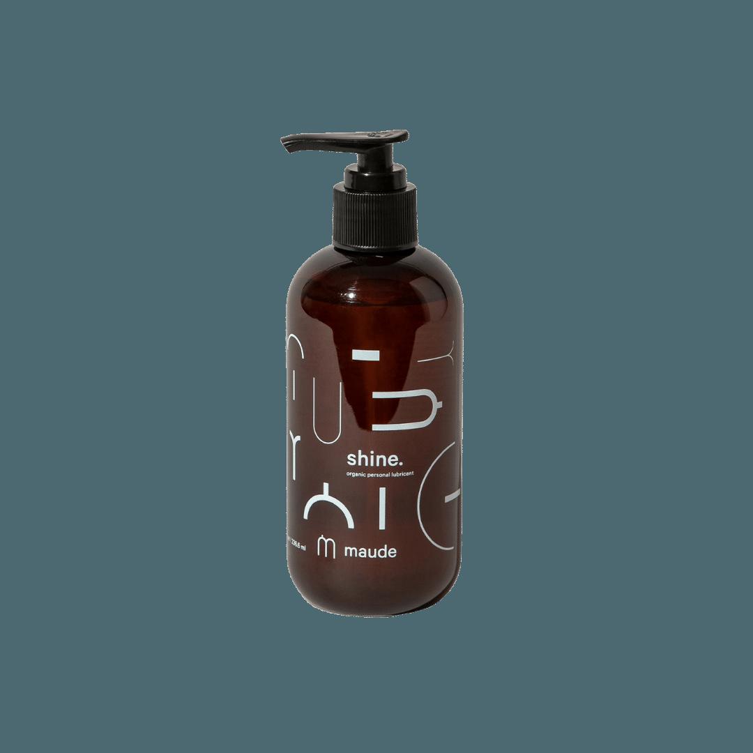 Maude Shine Organic Personal Lubricant - 8oz