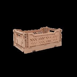 Aykasa Mini Folding Crate - Warm Beige