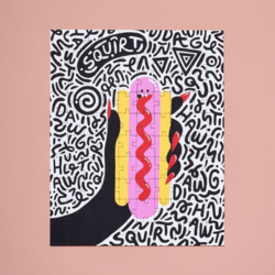 Ordinary Habit Hot Dog Monster 100pc Puzzle