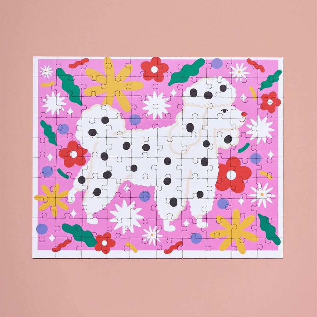 Ordinary Habit Puppy Love 100pc Puzzle