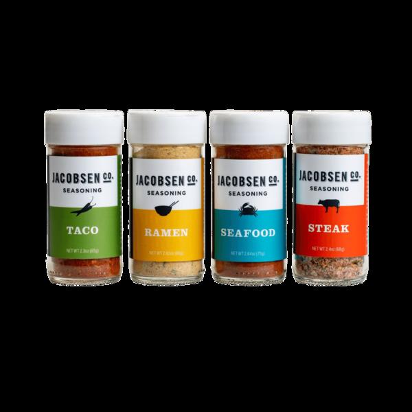 Jacobsen Salt Co. Seasoning Set - 4 Pack