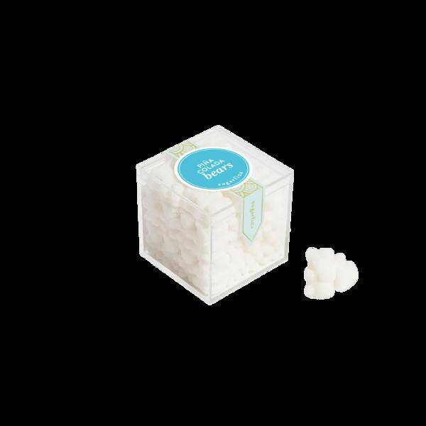 Sugarfina Pina Colada Bears Candy Cube